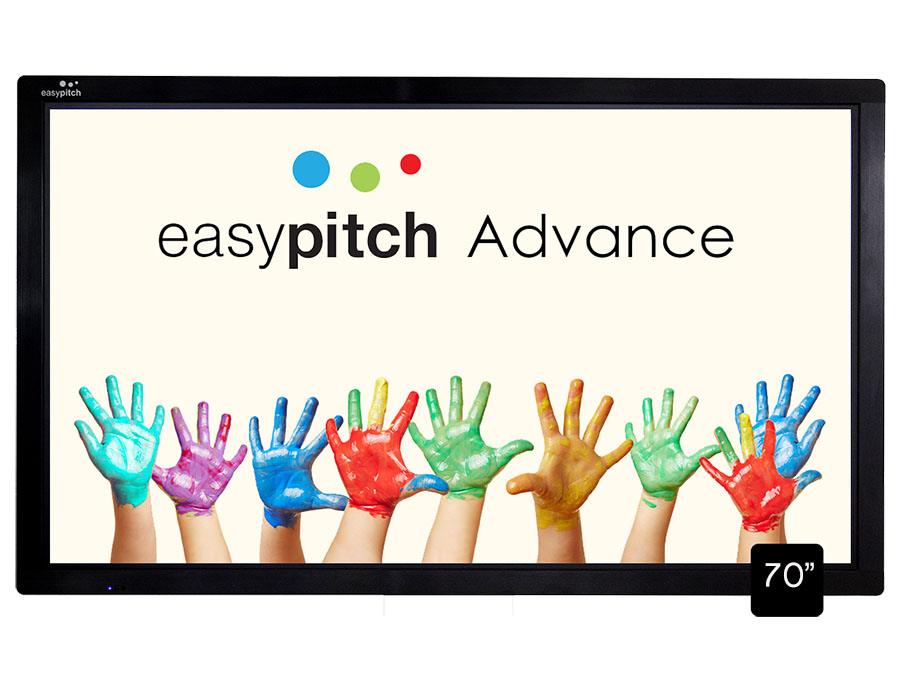 "Easypitch Advance - Ecran interactif Android 70"" Full HD"